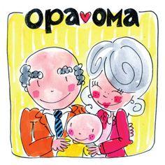 Grootouders met hun pasgeboren kleinkind- Greetz