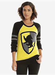 Stay warm at the next Quidditch game | Hufflepuff House Sweater