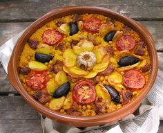 Arròs al forn (beats paella) || I'm adding this on beauty because it is what this is. BEAUTY. ON A PLATE.