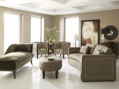 Armand with Ottoman Living Room Set (via @CORT Furniture)