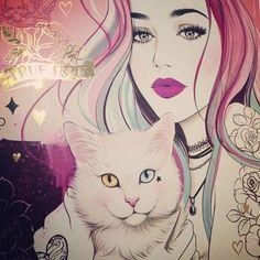 Glamorous Sketches by Tati Ferrigno - Beauty will save Art Sketches, Art Drawings, Art Du Croquis, Pop Art Wallpaper, Arte Sketchbook, Ouvrages D'art, Desenho Tattoo, Digital Art Girl, Arte Pop