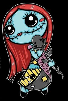Sally Nightmare Before Christmas, Nightmare Before Christmas Wallpaper, Art Tim Burton, Tim Burton Kunst, Voodoo Doll Tattoo, Voodoo Dolls, Cute Disney, Disney Art, Disney Drawings