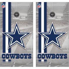 Dallas Cowboys Cornhole Wraps