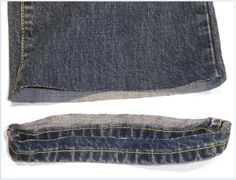 'hemming jeans with designer style' @Lindsey Price