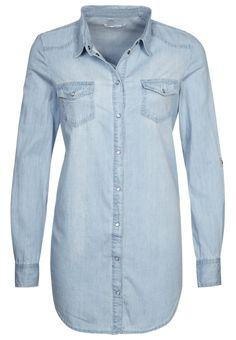 Het perfecte jeanshemd in lichtblauw van Only @ Zalando