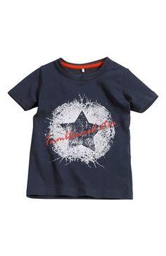 De sejeste Name it T-shirt Vils mini Mørkeblå Name it T-shirt til Børn & teenager i fantastisk kvalitet