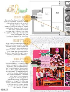 ISSUU - CREATE: Issue 8, August 2014 by Scrapbook Generation