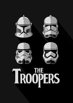 Livre pliage Stormtrooper Casque Logo Cadeau Art idéal pour un fan de Star Wars