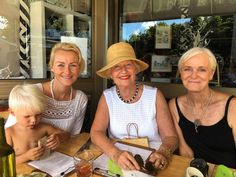 Happy Mother's Day! With Laurentine, Karian (L's mum), Megan (my mum). Peace and blessings to all the mothers out there today. Thanks for making humans! Fun lunch at The Shack. - J #mothersday #theshackorganiccafe