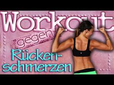 Back training for home - back pain and neck tension combat - 20 Min Workout - YouTube