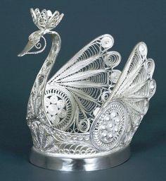 Russian Filigree Art