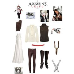 Female Assassin Costume   fashion look from July 2013 featuring Warehouse blouses, Lauren ...