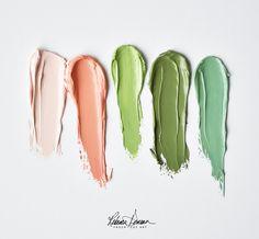 Rebecca Deneau Fresh color inspiration for your summer. Colour Pallette, Colour Schemes, Color Trends, Color Combos, Color Patterns, Palette Pastel, Color Psychology, Psychology Facts, Color Stories