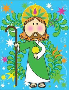 Imágenes para manualidades: Imágenes de San Judas Tadeo para manualidades