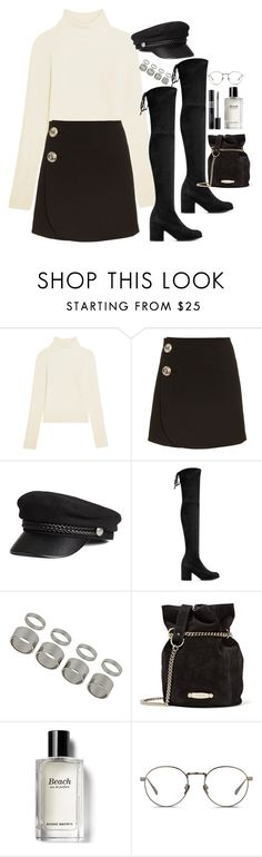"""Untitled #1809"" by samikayy76 on Polyvore featuring Acne Studios, Marni, Stuart Weitzman, Topshop, Lanvin, Christian Dior, Bobbi Brown Cosmetics and Linda Farrow"
