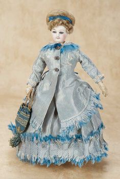 De Kleine Wereld Museum of Lier: 162 Beautiful French Bisque Poupee,Size 0,by Gaultier