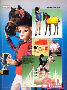 The 80's | Vintagesindy Childhood Toys, Childhood Memories, Dapple Grey Horses, Tammy Doll, Sindy Doll, My Memory, Vintage Dolls, My Little Pony, Fashion Dolls
