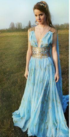 Pretty Dresses, Blue Dresses, Beautiful Dresses, Prom Dresses, Formal Dresses, Wedding Dresses, Greek Dress, Greek Goddess Dress, Greek Goddess Costume