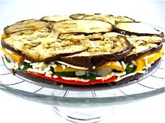 Spectacular Roasted Vegetable Torte. You'll love this colorful vegetable dish to serve along side just about any main course meat such as ham, beef, lamb, or even fish or chicken.