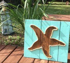 Étoile de mer à la main avec de la corde de par BeachByDesignCo