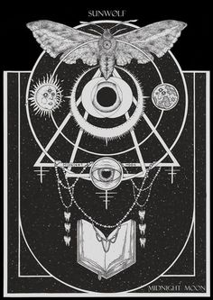 Fine occult art forged by Adrian Baxter. Our... — Designspiration
