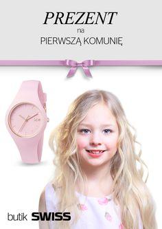 Szukasz idealnego prezentu na pierwszą komunię? W butiku SWISS w Porcie Łódź znajdziesz cudowną kolekcję zegarków dla dzieci.Zapraszamy!