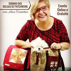 4849 comentários lá no site... Uau! Essa semana gratuita de bolsas de Patch da Ana Cosentino está dando o quê falar... E você?! Já está participando? Aquihttp://duna.vc/semana-bolsas-ana #patchwork #bolsas #costura
