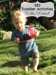 101 Toddler Activities ~ Kiddie Workout | A Year with Mom & Dad