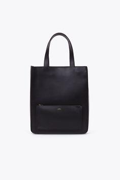 A.P.C. Shopping Tote (Black)