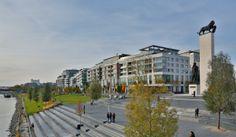 Eurovea International Trade Center, Residential, Riverfront, Bratislava-Slovakia.