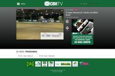 CBHTV - Laravel - OctoberCMS - Sistema de exibição de programas ao vivo