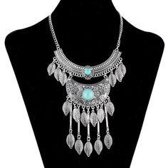 Antique Silver Maxx2 Necklace