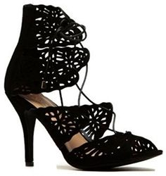 Glaze by Adi Women Willow 60 Lace Up Open Toe Gladiator Bootie 10 -- See this awesome image