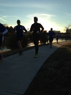 First social run at the new Run On! in Frisco.