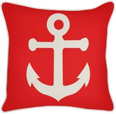 Outdoor Lava Anchor Pillow By Thomaspaul