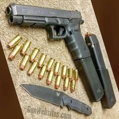 Gun Websites — Glock 41  .45acp  KRISS 30rd mag extensions...