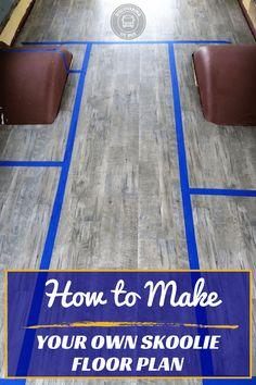 Design a skoolie floorplan