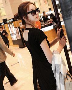 [JJ090] เสื้อผ้าแฟชั่น Pre Order เสื้อเกาหลี ผ้ายืดคอกลม | SoMoreMore.Com