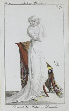 English fashion plates from 1802, and French fashion plates from Year 10…