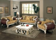 1000 Images About Antique Style Formal Sofa Sets On Pinterest Sofa Set Fo