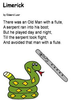 12 Best Limerick Examples Images Limerick Examples Limerick For