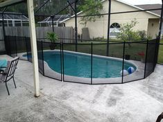 Kissimee FL Pool Safety Fence. The place we stayed had one like this!