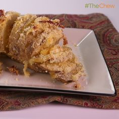 Cheesy Hasselback Potatoes by Mario Batali! #TheChew