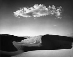 Nipomo Dunes by Ansel Adams