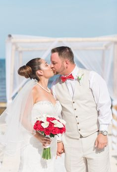Real Wedding: Leslie & Robert in Riviera Maya, Mexico