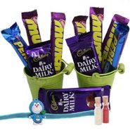 Chocolaty Rakhi gifts Hamper through http://www.rakhibazaar.com/rakhi-gifts-99.html