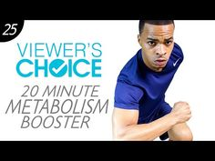 20 Min. Quick Morning HIIT Workout to Burn Fat and Boost Your Metabolism | Viewer's Choice #25 - YouTube