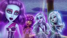 Spectra searches Haunted High to thank Porter just one last time, but she's interrupted by an announcement from punishing Principal Revenant. Spectra can't l. Ghost Fashion, High E, Ever After Dolls, Monster High Characters, The Revenant, Ever After High, Galaxy Wallpaper, Spectrum, Childhood