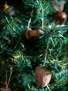 How to Make Your Own Christmas Tree Ornaments : Acorn Ornaments  www.thedecorbar.com Make Your Own, Make It Yourself, How To Make, Acorn, Christmas Tree Ornaments, Bar, Tassel, Do It Yourself, Christmas Tree Toppers