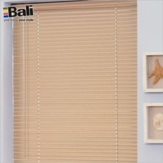 """Waterproof blind for shower stall: 1"""" Customiser Mini Blinds Brand: Bali"""